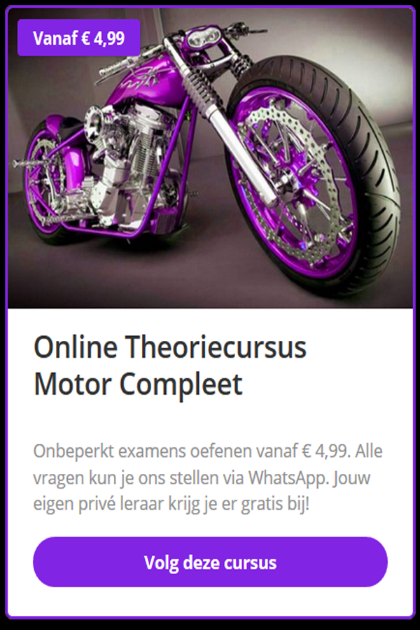 motor55 Scooter theorie Eindhoven